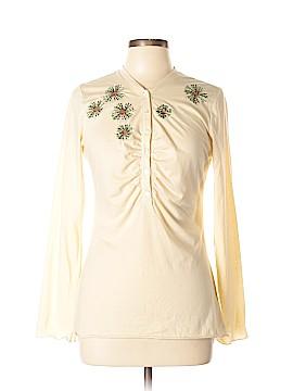 Susan Bristol Long Sleeve Henley Size L