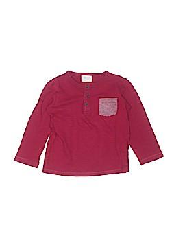 Zara Long Sleeve Henley Size 3 - 4