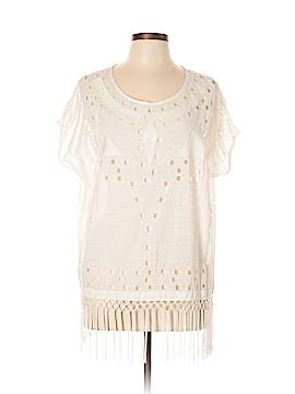Lucky Brand Short Sleeve Button-Down Shirt Size M