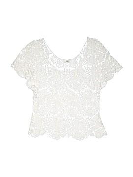 ISSI Short Sleeve Blouse Size M