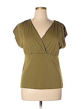 Garnet Hill Short Sleeve Top Size XL