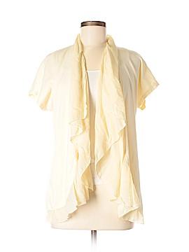 Barbara Lesser Fibers Cardigan Size M