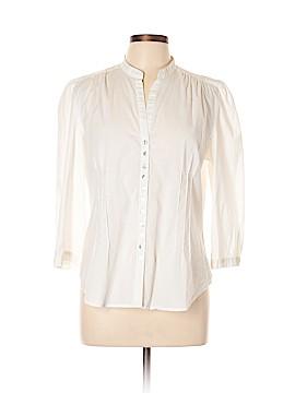 Spense 3/4 Sleeve Button-Down Shirt Size XL
