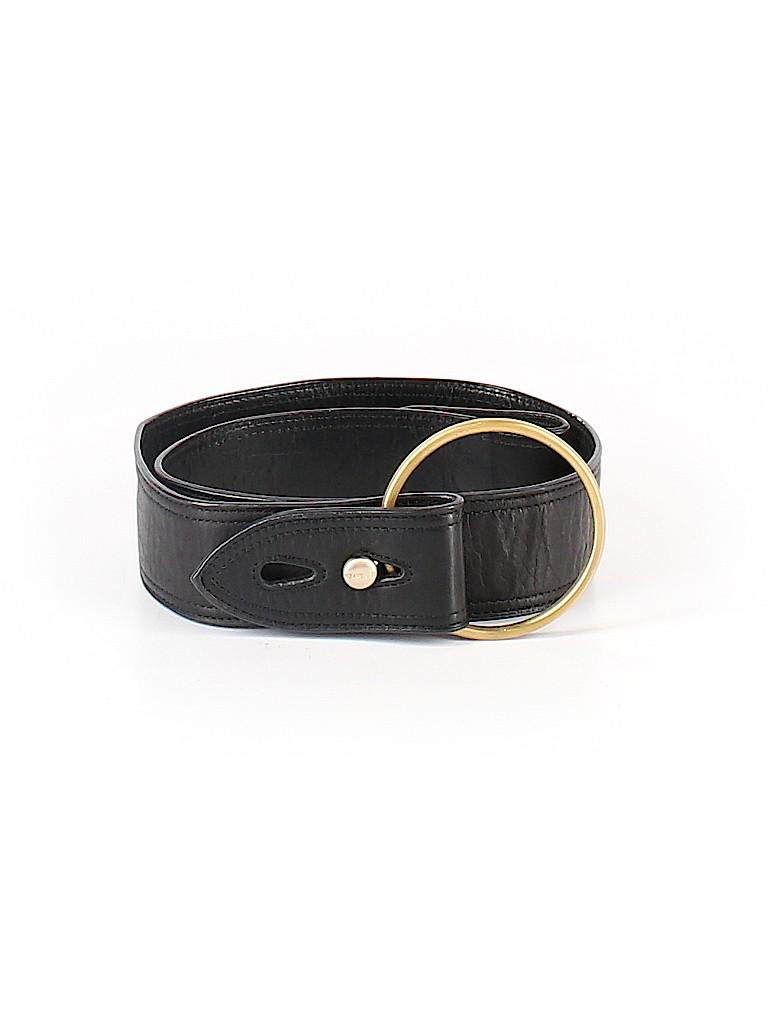3061af5960a36 Ted Baker London 100% Leather Solid Black Leather Belt Size 2 - 82 ...