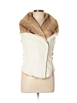 Bebe Faux Fur Vest Size L