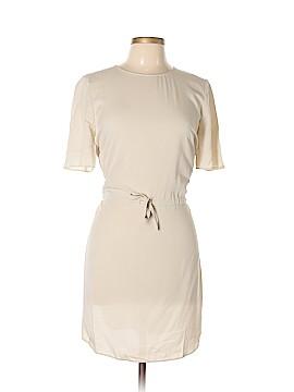 Longchamp Short Sleeve Silk Top Size 38 (FR)