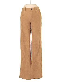 Ralph Lauren Black Label Leather Pants Size 6