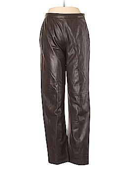 Giorgio Armani Leather Pants Size 42 (IT)