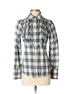 Seven7 Long Sleeve Button-Down Shirt Size S
