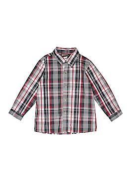 Boyz Wear By Nannette Short Sleeve Button-Down Shirt Size 7