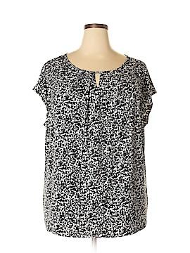 Liz Claiborne Short Sleeve Top Size 3X (Plus)
