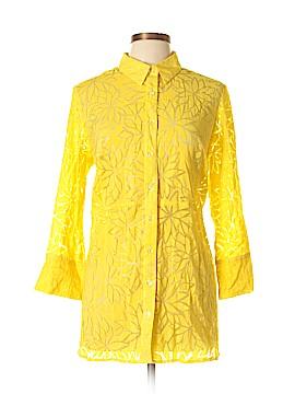 Cheryl Nash Windridge 3/4 Sleeve Blouse Size XL