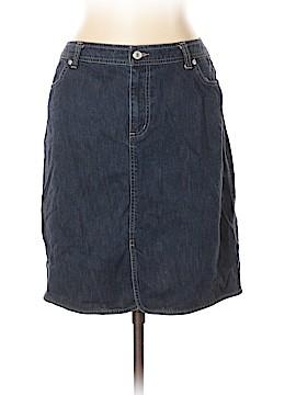 Lands' End Denim Skirt Size 12