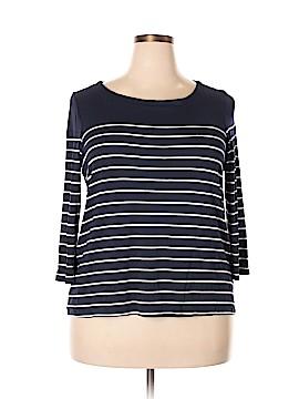 Laila Jayde 3/4 Sleeve T-Shirt Size 1X (Plus)