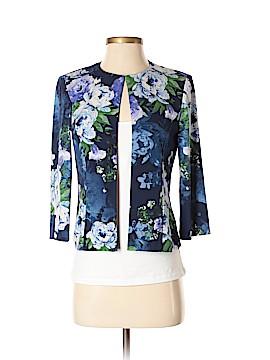 Jessica Howard Silk Blazer Size 4 (Petite)