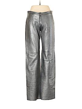 BCBG Paris Leather Pants Size 6