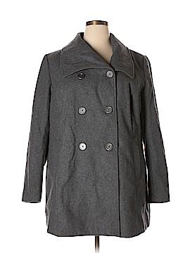 Pure Energy Wool Coat Size 2X (Plus)