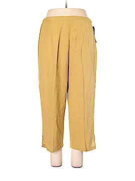 Mlle Gabrielle Casual Pants Size 1X (Plus)