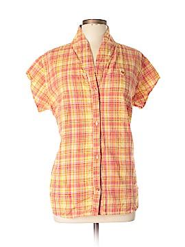 Merrell Short Sleeve Button-Down Shirt Size XL