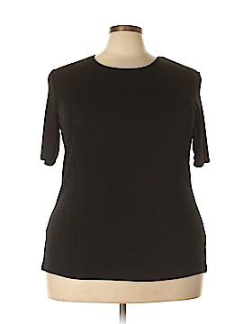 Kathie Lee Short Sleeve Top Size 18 (Plus)