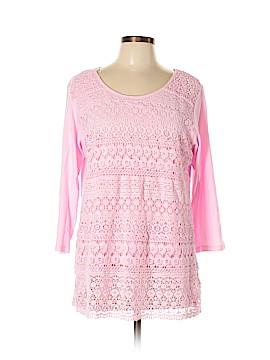 Kim Rogers 3/4 Sleeve Top Size XL