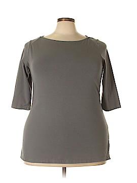 Jessica London 3/4 Sleeve T-Shirt Size 18 (Plus)
