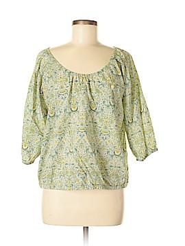 Liberty Art Fabrics for J. Crew 3/4 Sleeve Blouse Size S