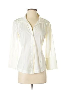 Donna Karan Collection 3/4 Sleeve Button-Down Shirt Size 6