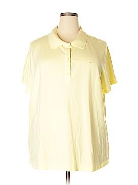 Gloria Vanderbilt Short Sleeve Polo Size 3X (Plus)