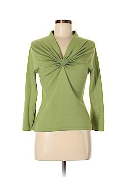 Etcetera 3/4 Sleeve Silk Top Size M