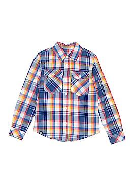 Akademiks Long Sleeve Button-Down Shirt Size 16