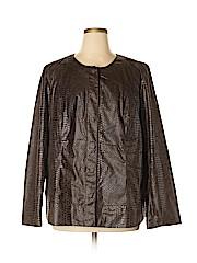 Dana Buchman Women Jacket Size 2X (Plus)