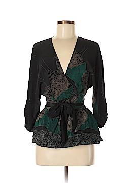 Maple Long Sleeve Silk Top Size 6