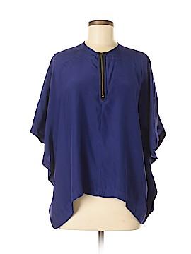 Karina Grimaldi 3/4 Sleeve Silk Top Size S