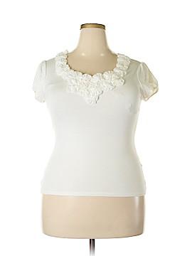 DressBarn Short Sleeve Top Size L (Petite)
