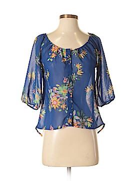 Ultra Flirt 3/4 Sleeve Blouse Size S