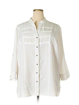 Kathy Che 3/4 Sleeve Blouse Size 26 - 28W (Plus)