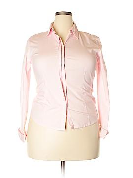 Chadwicks Long Sleeve Button-Down Shirt Size 16