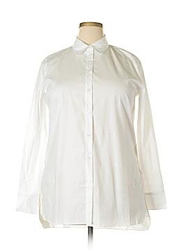 Boston Proper Long Sleeve Button-Down Shirt Size 16