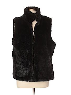 Simply Vera Vera Wang Faux Fur Vest Size XL