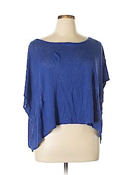 Cynthia Rowley for Marshalls Short Sleeve Blouse Size XL