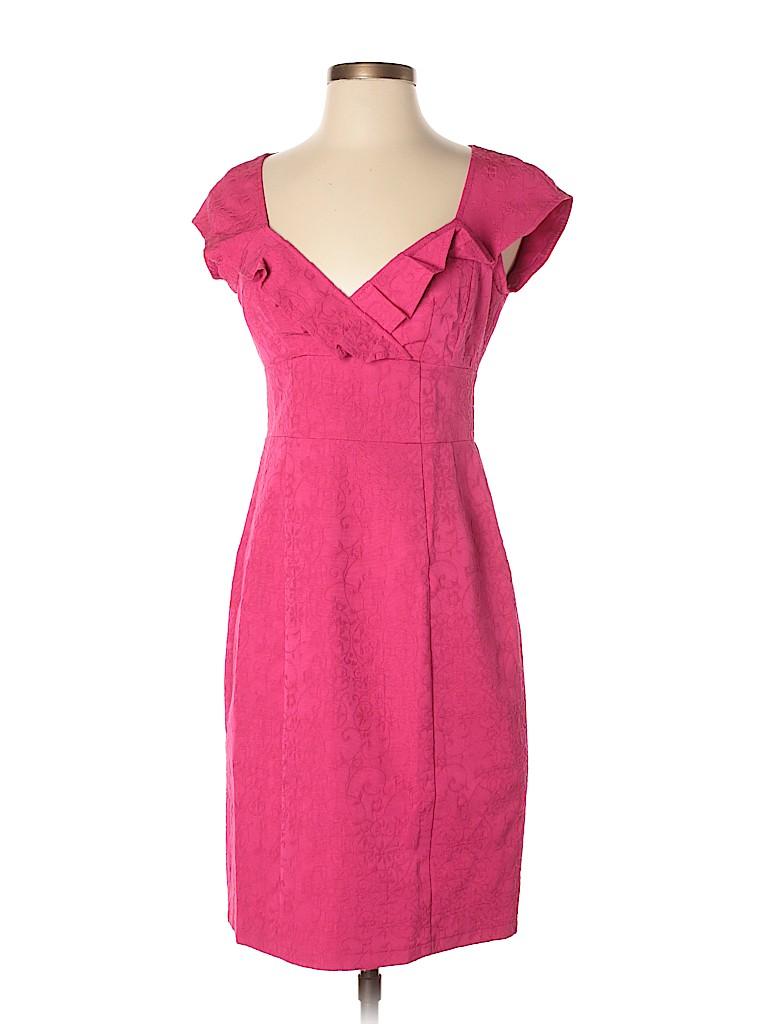 Nanette Lepore Solid Pink Cocktail Dress Size 2 - 81% off   thredUP