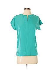 Van Heusen Women Short Sleeve Blouse Size XS