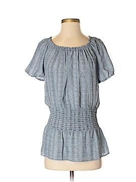 Michele Michelle Short Sleeve Blouse Size XS