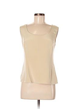 Nina Mclemore Sleeveless Silk Top Size 8
