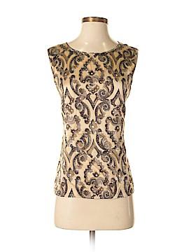 Escada Sleeveless Silk Top Size 38 (EU)