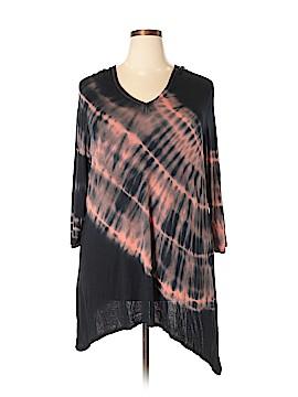 Kate & Mallory designs 3/4 Sleeve T-Shirt Size 1X (Plus)