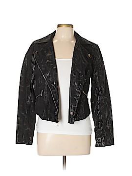 Rock & Republic Faux Leather Jacket Size L