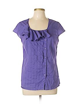BOSTON DESIGN STUDIO Short Sleeve Button-Down Shirt Size 16