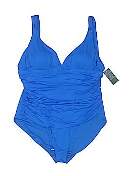 Lauren by Ralph Lauren One Piece Swimsuit Size 22W (Plus)